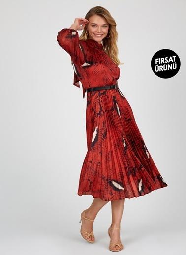 Setre Elbise Kırmızı